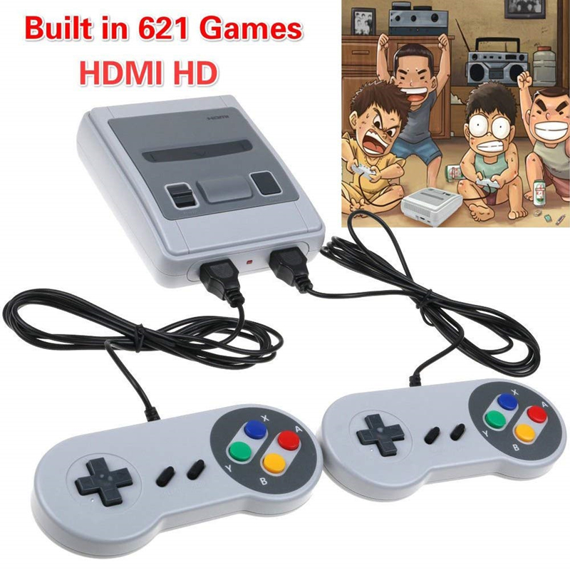cheapest Built-In 500 620 Games Mini TV Game Console 8 Bit Retro Classic Handheld Gaming Player AV Output Video Game Console Toys Gifts