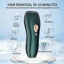 Home Hold Depilatory Laser Mini Hair Epilator Permanent Hair Removal IPL System