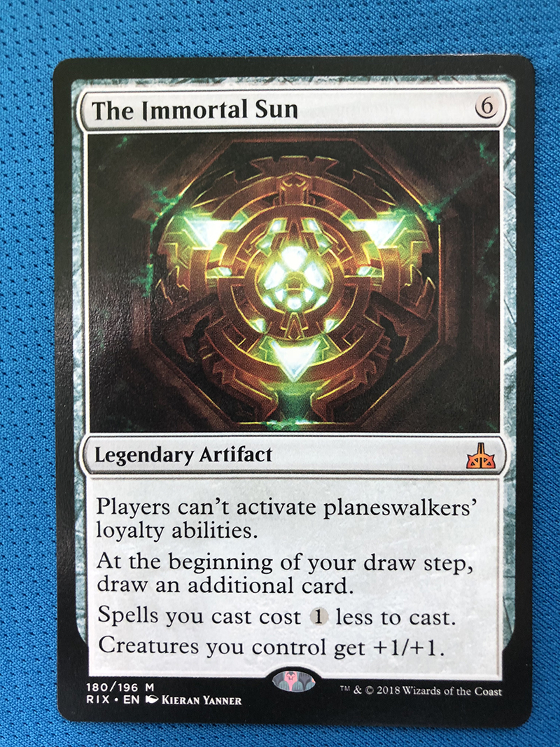 The Immortal Sun	RIX Hologram Magician ProxyKing 8.0 VIP The Proxy Cards To Gathering Every Single Mg Card.
