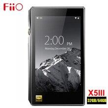 مشغل موسيقى Fiio X5III X5 3nd Gen 32 GB/x5s X5IIIS 64GB MP3 HIFI بلا فقدان خرج متوازن صوت بلوتوث DSD DAC واي فاي APTX