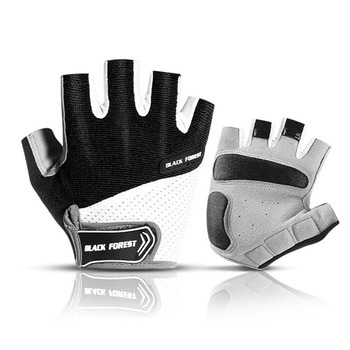 Cycling Gloves Half Finger Anti-Slip Anti-Sweat Men Women Breathable Shockproof Sports Gloves MTB Wear Resistant Bicycle Glove rockbros cycling bike half finger gloves shockproof breathable mtb mountain bicycle gloves men women sports cycling clothings