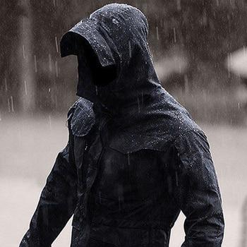 Outdoor Military Tactical Men Charge Clothes Waterproof Windproof Wear Resistant Loose Coat Hiking Camping Trekking Windbreaker