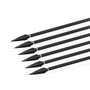 Image 5 - 6 шт. наконечники стрел из высокоуглеродистой стали, наконечники стрел, стрелы для стрельбы из лука, стрела для комбинированного лука, арбалет, изогнутый лук