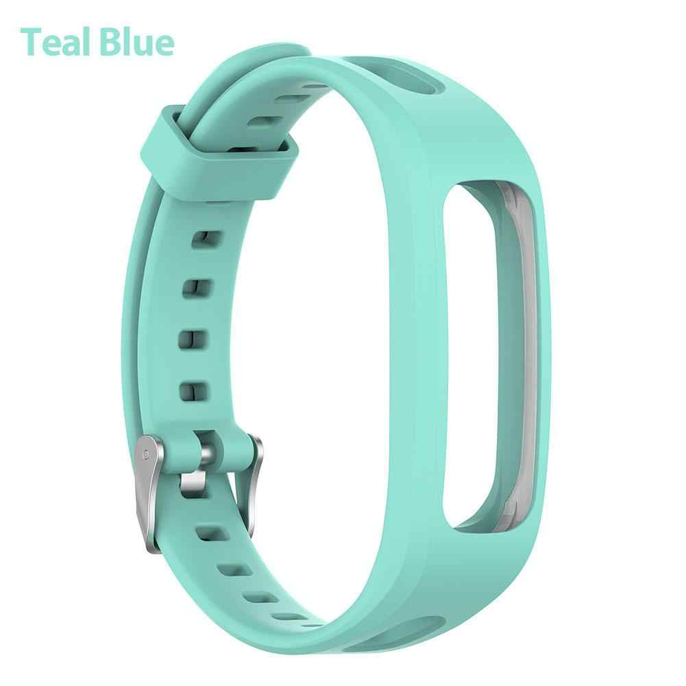Ремешок для часов Силиконовый браслет для huawei 3e 4e умный ремешок для часов для huawei Honor Band 4 версия для бега браслет ремешок
