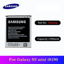 20pcs/lot High Quality Battery EB-F1M7FLU For Samsung Galaxy S3 Mini i8190 i8160 i8200 Phone Bateria 1500mAh In Stock original samsung eb l1m7flu battery for samsung galaxy s3 mini s3mini i8190 gt i8200 gt i8190 i8190n nfc 1500mah