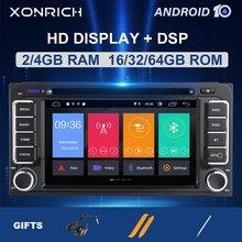 2 Din Android 9 Autoradio Multimediale per Toyota Land Cruiser 100 200 Prado 120 150 Rush Corolla Hiace Yaris Hiluxgps navi Dsp 4G