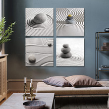 Artwork for Living Room Canvas Painting Art Prints Pictures for Wall Poster Modern Prints 4 pieces Zen Stones prints