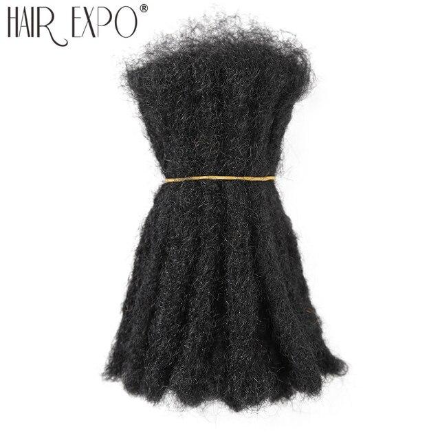 10 אינץ סרוגה שיער בעבודת יד ראסטות סינטטי שיער Locs רגאיי סרוג קולעת שיער הארכת עבור שחור נשים/גבר