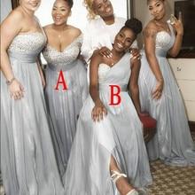 2019 Summer Spring Bridesmaid Dress Chiffon African Country