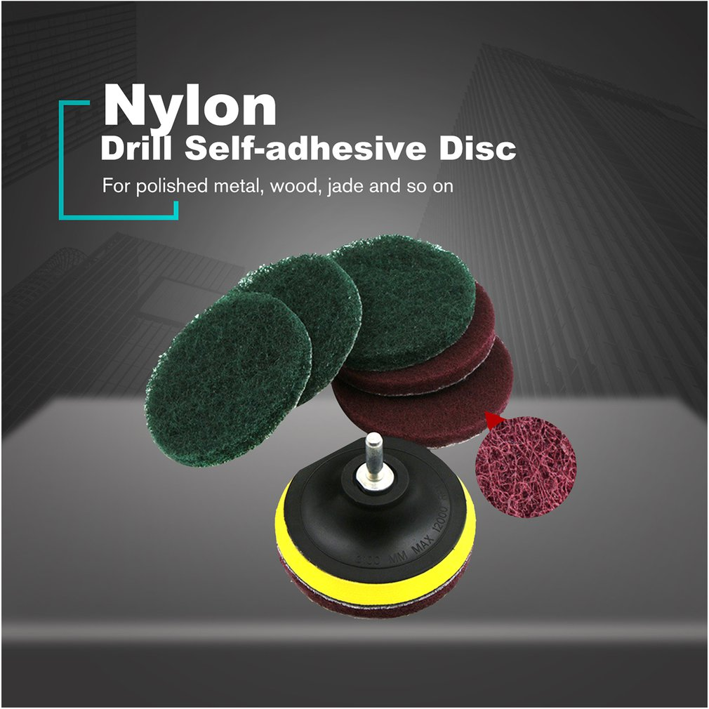 8Pcs 4 Inch 100mm Round Sandpaper Grits Sanding Disk Kit Sand Sheets Hook And Loop Sanding Disc For Polishing Cleaning Tools