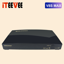 20PCS solovox V8S max Digital Satellite Receiver AV USB Wifi WEB TV Biss Key 2xUSB Youporn CCCAMD NEWCAMD DVB S2 H.256 T2 MI