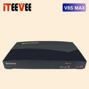 Image 1 - Solovox Receptor Satélite Digital V8S max, AV, Wifi USB, WEB TV, clave Biss 2, xUSB, Youporn, CCCAMD, NEWCAMD, DVB S2, H.256, T2 MI, 20 Uds.