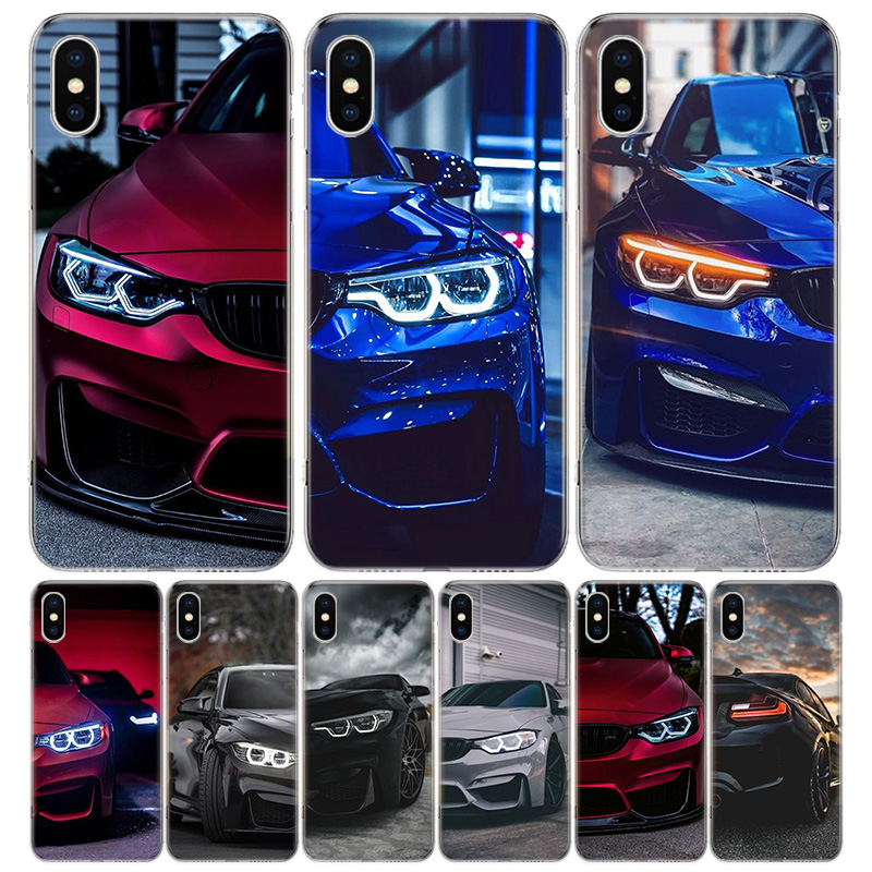 Hot Blue Red for Bmw Phone Case For Apple iphone 11 Pro XR X XS Max 7 8 6 6S Plus + 7G 6G 5 SE 2020 Luxury Pattern Coque image