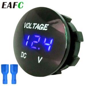 DC 12V-24V Digital Voltage Meter Car Motorcycle Voltmeter Voltage Tester for Car Auto Motorcycle Boat ATV Truck