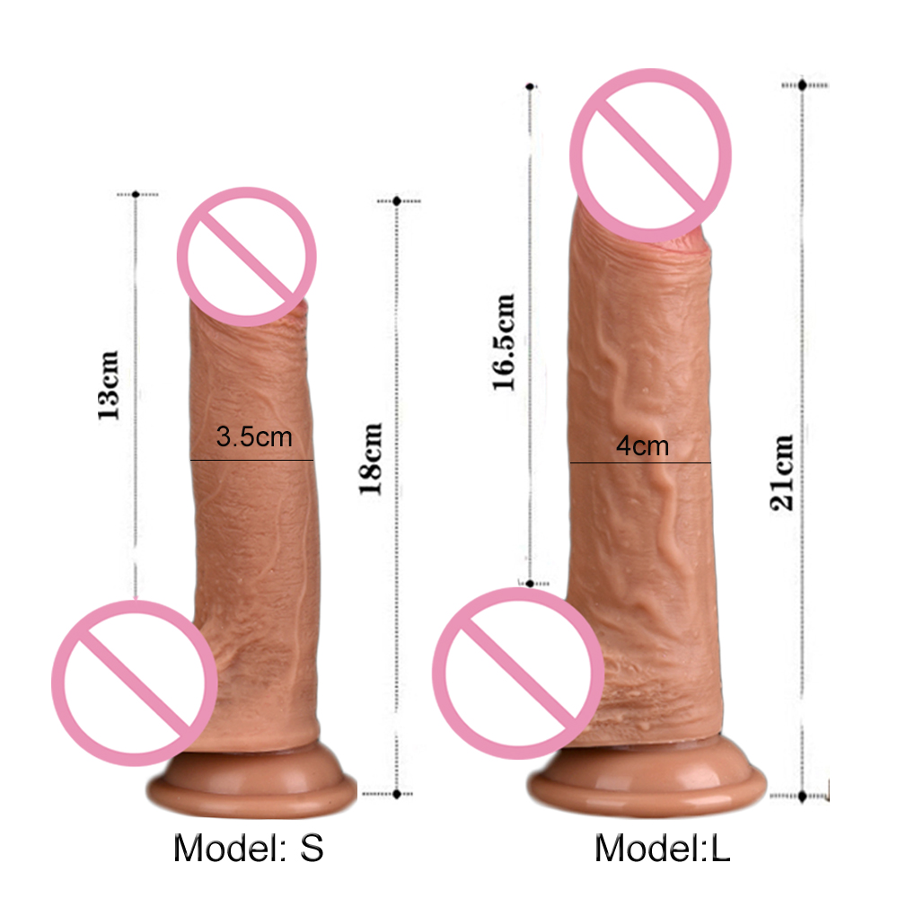 Soft Phallus <font><b>Big</b></font> Faloimitator <font><b>Realistic</b></font> <font><b>Dildo</b></font> <font><b>Sex</b></font> Toys for <font><b>Adults</b></font> Woman Thick Silicone Penis With Suction Cup Phalos <font><b>Sex</b></font> <font><b>Shop</b></font> image