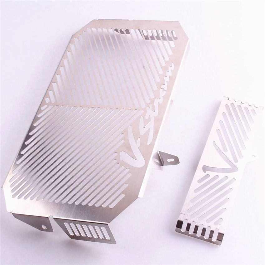 1 PCS Motorcycle Radiator Grille Guard Cover Protector Fits <font><b>SUZUKI</b></font> <font><b>DL650</b></font> <font><b>2005</b></font> 2006 2007 2008 Motor Accessories Stainless Steel image