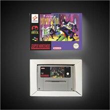 Batmansゲーム & robin ユーロバージョンの冒険アクションゲームカードとリテールボックス