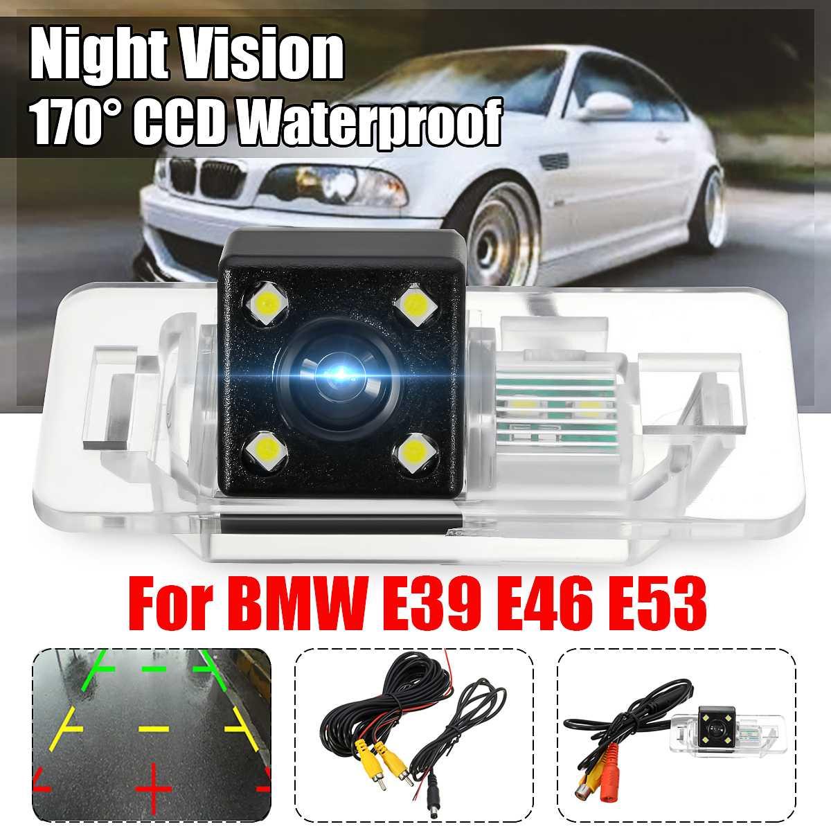 170° Car Rear View Camera CCD Reverse Backup For BMW 1//3//5//6//7 X5//X6//E61//E90//E91