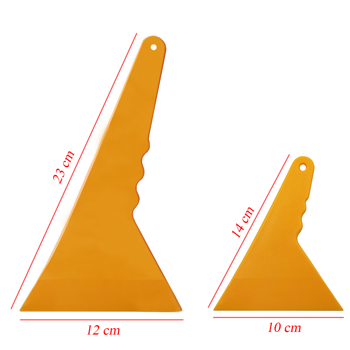 Long Plastic Triangle Tinting Squeegee Car Wrap Cleaning Scraper Window Tint Tools Old Glue Film Remove Tool A01 A01S