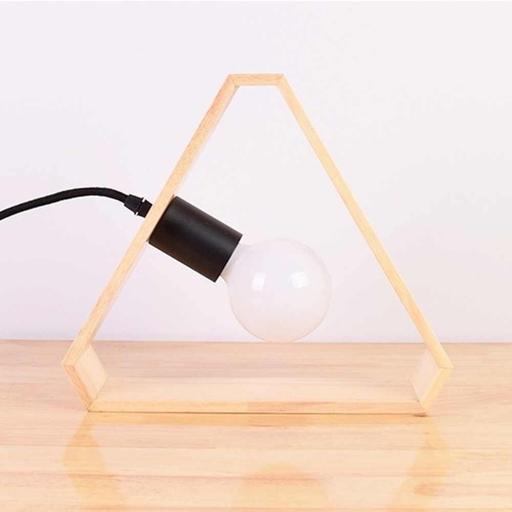 Японская настольная лампа, деревянная лампа для учебы, складывающаяся настольная лампа, креативная настольная лампа для защиты глаз, настольная лампа в скандинавском стиле, прикроватная лампа
