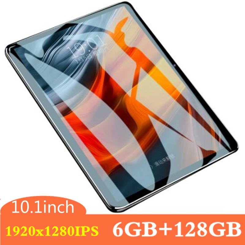 2020 Super 2.5D Screen 1920*1280 IPS 10.1 Inch Tablet PC 6GB RAM 128GB ROM  Octa Core 4G LTE FDD Dual Sim Cards PC Tablets 10.1