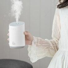 مرطب هواء لاسلكي 320 مللي أمبير ببطارية 2000 مللي أمبير مرذاذ فوق صوتي USB صانع ضباب مصباح رومانسي ليلي للسيارة المنزلية