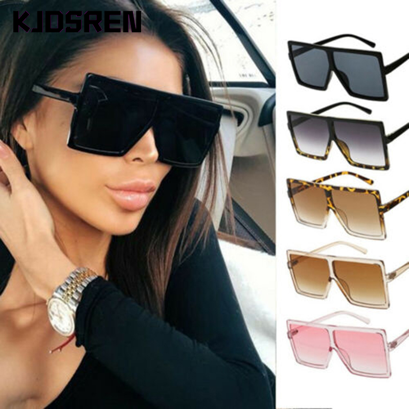 New Fashion 2020 Women Sunglasses Classic Square Very Large Oversized Glasses Ladies Shades Square Sun Glasses Female Oculos