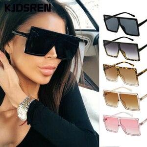 New Fashion 2020 Women Sunglasses Classic Square Very Large oversized Glasses Ladies Shades Square Sun Glasses Female Oculos