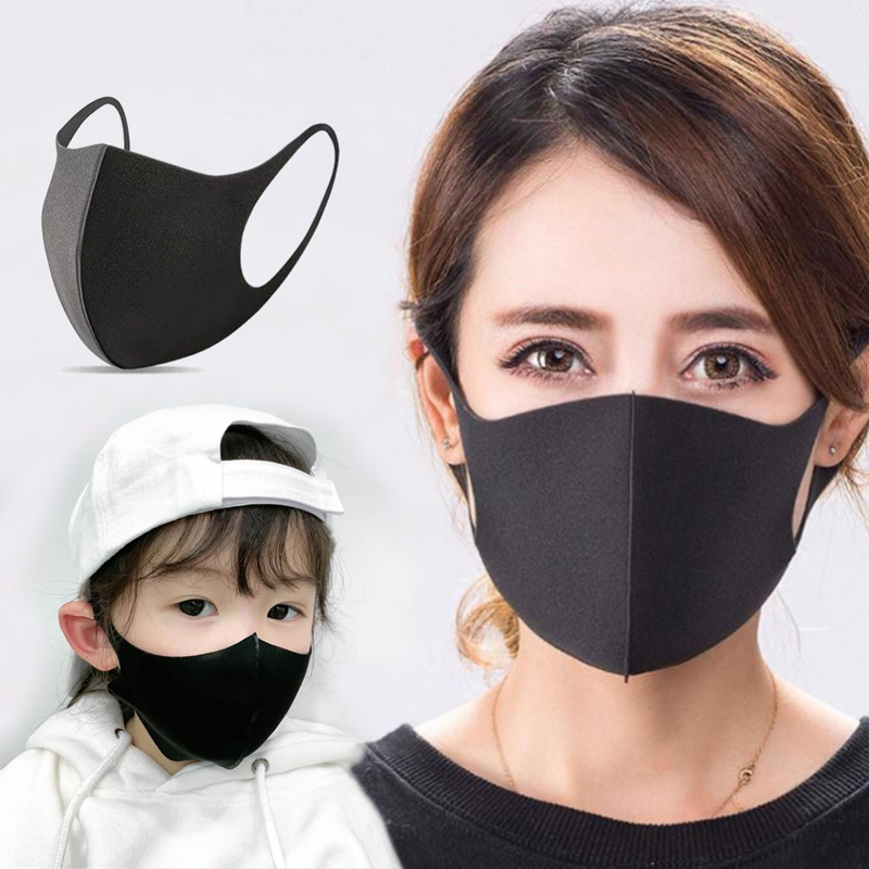 Lovely PM2.5 Washable Mouth Mask With Valve Kids Children Wome Men Anti Haze Dust Mask Nose Filter Face Muffle Bacteria Flu