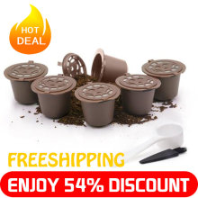 3PC coffee capsule new plastic compatible with nestle machine accessories environmental protection reusable filter core
