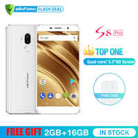 Ulefone S8 Pro Telefono Cellulare da 5.3 pollici HD MTK6737 Quad Core Android 7.0 2GB + 16GB di Impronte Digitali 4G Smartphone