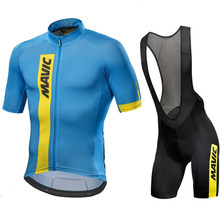 Mavic 2021 Pro Team Cycling Clothing /Road Bike Wear Racing Clothes Quick Dry Men's Cycling Jersey Set Ropa Ciclismo Maillot