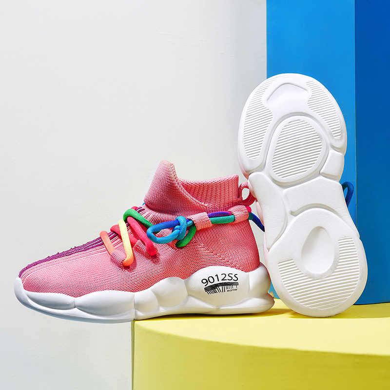 2020, zapatos casuales para niños, zapatos deportivos de suela suave de malla para niños y bebés, zapatillas antideslizantes para bebés