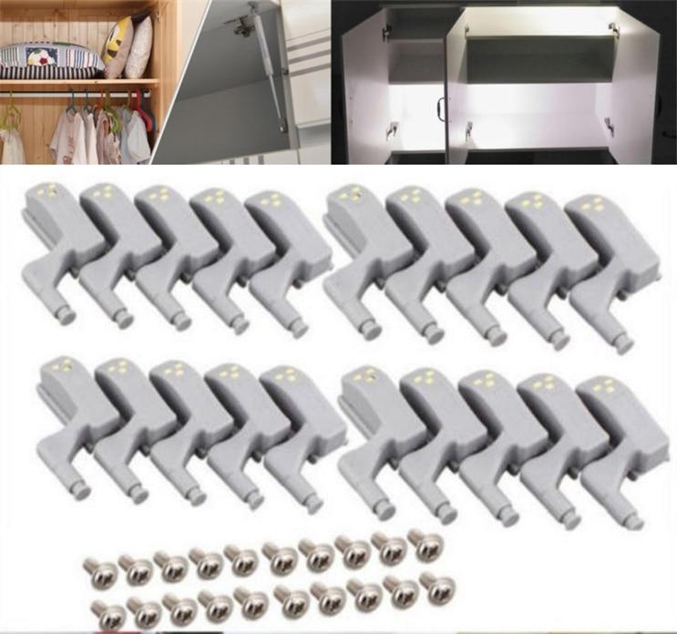 10 LEDs USB Motion Sensor Night Light Battery Operated Adhesive Strip Bar Light