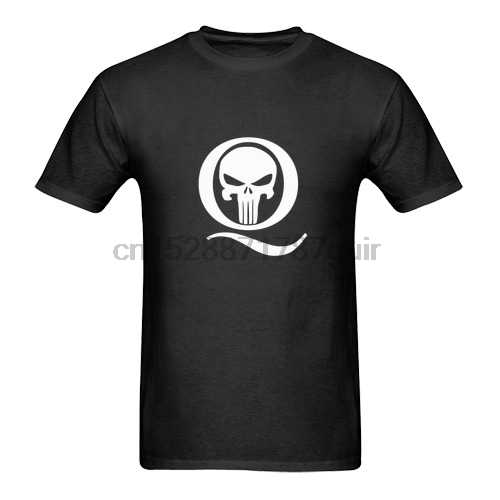 New Qanon Q And Punisher Skull Logo T Shirt S 5xl Aliexpress