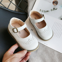 COZULMA New Children Shoes for Baby Girls Soft Bottom Casual Shoes Kids Girls Princess Dress Shoes Toddler Dance Shoes Sneakers cheap Rubber Bonded Leather Fits true to size take your normal size Hook Loop Solid Spring Summer Autumn Winter Breathable