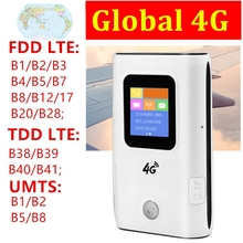 Router Mifi Sim-Card Hotspot Pocket 5200mah Mobile-Wifi Global 4G LTE FDD/TDD Power-Bank