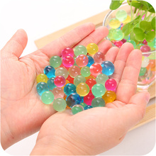 5000Pcs=2bags Home decoration Pearl Shaped Water Beads Crystal mud Soil Hydrogel Decor For wedding Kids Toy Balls