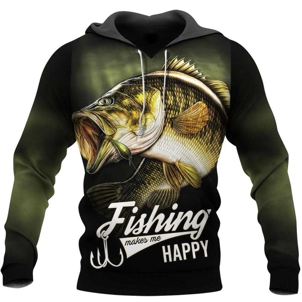 PLstar Cosmos New Fashion Animal Fishing Art Harajuku Casual Tracksuit Funny 3D Print Hoodies/Sweatshirt/Jacket/Mens Womens -13