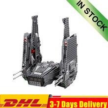 DHL In Stock 05006 1053Pcs Star Toy War Kylo Ren Command Shuttle Building Blocks