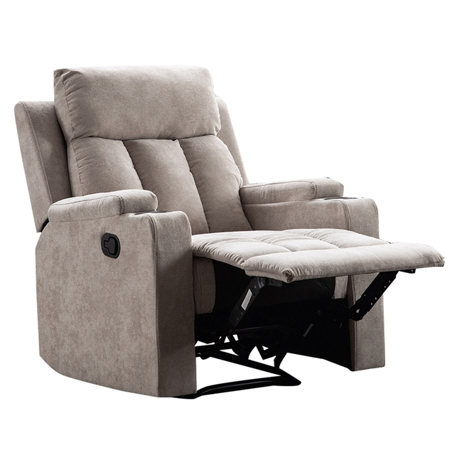 Recliner Chair With 2 Cup Holders for Theater Seating  2