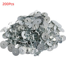 100/200Pcs Candle Wick Metal Sustainer Wick Tabs Silver For Candle Making Gift