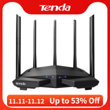 Wireless Router Antennas Wifi-Repeater Gigabit Dual-Band Tenda Ac11 High-Gain AC1200