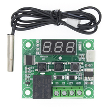 50Pcs W1209 Dc 12V Warmte Cool Temp Thermostaat Temperatuur Schakelaar Temperatuurregelaar Thermometer Thermo Controller