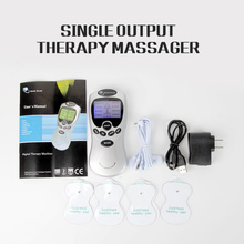 8 Modes Electric Muscle Stimulator Massager Tens Acupuncture Body Massage Digital Therapy Machine for Back Neck Foot Health Care
