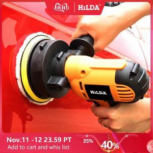 Image 1 - HILDA 700W voiture polisseuse Machine de polissage automatique vitesse réglable ponçage épilation outils voiture accessoires Powewr outils