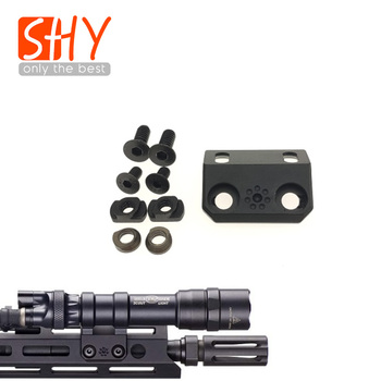 Surefire M600 M300 Lights M-lok 45 Degree Offset Mount For Gel Blaster Airsoft AEG Toy Gun BCM MK4 MK8 MK16 SMR SLR Rail