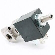 OLAB Италия Серия 6000-9000 AC 230V N/O G1/8' латунные кофейники паровой воздух вода 2 положения 2 способ электромагнитный клапан