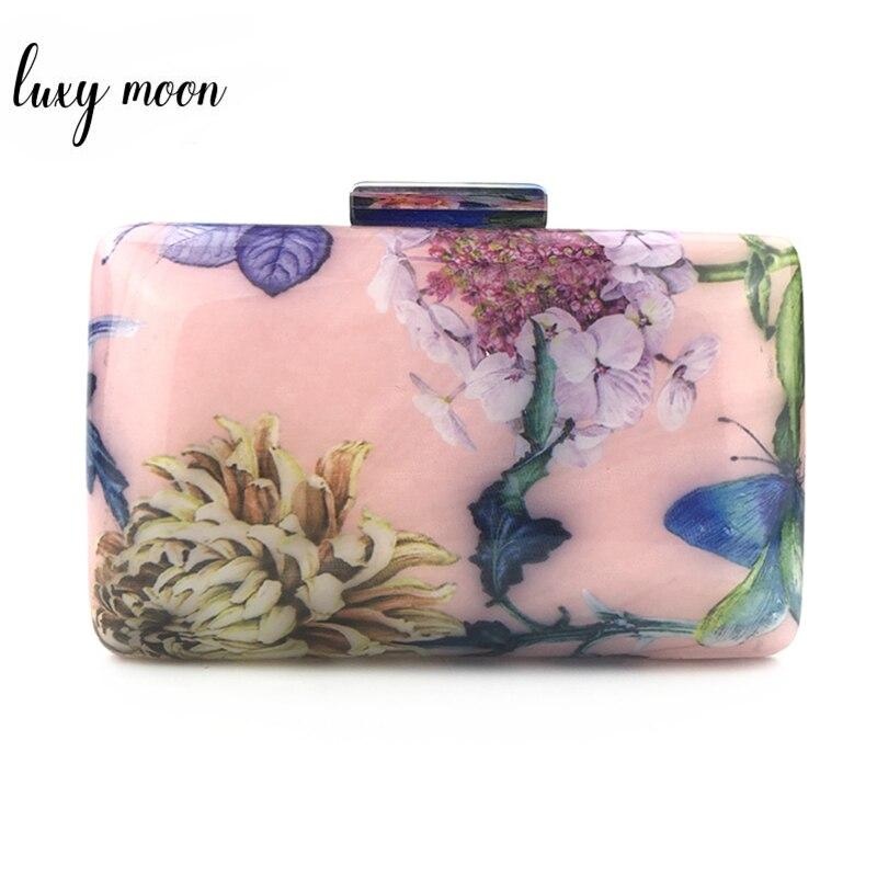 Acrylic Clutch Bag Wedding Purse And Handbag Luxury Handbags Women Bags Designer Purse High Quality Chain Shoulder Bag ZD1340
