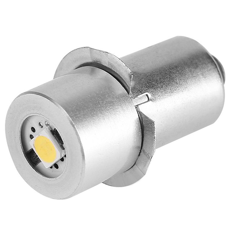 1W P13.5S Led Flashlight Bulb, 100~110LM 2700~7000K Replacement Bulb Torch Lamp Emergency Work Light(6V) image